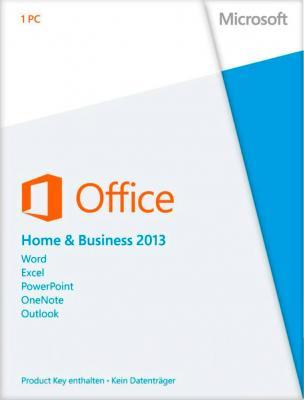 Пакет офисных программ Microsoft Office Home and Business 2013 32/64 Ru (T5D-01761) - общий вид
