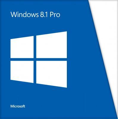 Операционная система Microsoft Windows Pro 8.1 x64 Ru 1pkDSP (FQC-06930) - общий вид