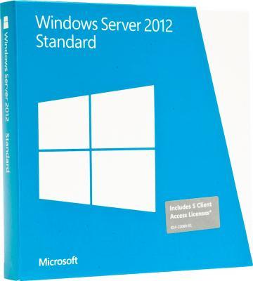 Клиентская лицензия Microsoft Windows Server Standard 2012 x64 En DVD (P73-05328) - общий вид