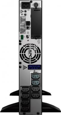 ИБП APC Smart-UPS X 750VA Rack/Tower LCD 230V (SMX750I) - вид сзади