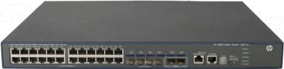 Коммутатор HP 5500-24G-4SFP HI с 2 интерфейсными слотами (JG311A) - общий вид