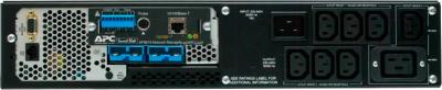 ИБП APC Smart-UPS XL Modular 3000VA (SUM3000RMXLI2U) - вид сзади