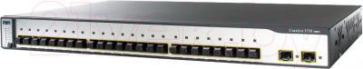 Коммутатор Cisco WS-C3750-24FS-S - общий вид