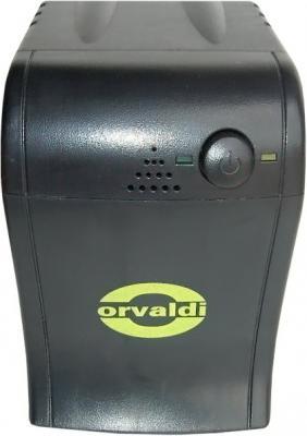 ИБП Orvaldi 520USB (черный) - общий вид