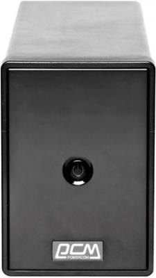 ИБП Powercom Phantom Black PTM-650AP 650VA - общий вид