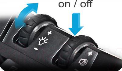 Клавиатура Gigabyte Aivia Osmium - регуляторы подсветки и громкости
