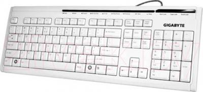 Клавиатура Gigabyte GK-K6150 (White) - общий вид