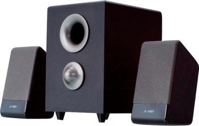 Мультимедиа акустика FnD S320 (черный) - общий вид