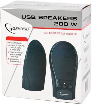 Мультимедиа акустика Gembird SPK502 - в упаковке