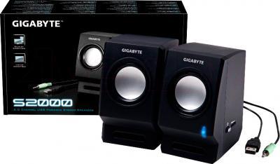Мультимедиа акустика Gigabyte GP-S2000 - общий вид