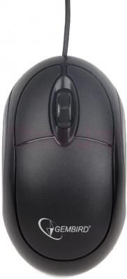 Мышь Gembird MUS-U-001 (черный) - общий вид