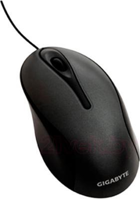 Мышь Gigabyte GM-M5100 (черный) - общий вид