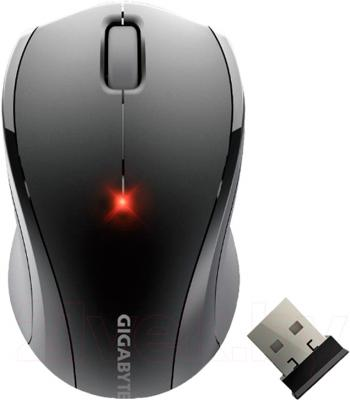 Мышь Gigabyte GM-M7800E (Black) - вид сверху