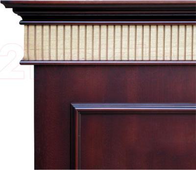 Электрокамин Смолком Murano + Panoramic 33W LED FX - Махагон коричневый антик (цвет портала)