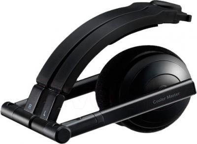 Наушники-гарнитура Cooler Master HC-500 (черный) - в сложенном виде
