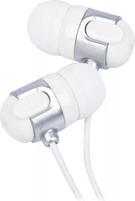 Наушники Gembird MP3-EP02 (White-Silver) - общий вид
