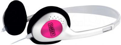 Наушники-гарнитура Sweex HM458 (White-Pink) - общий вид