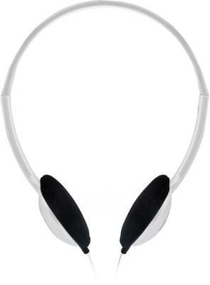 Наушники-гарнитура Sweex HM457 (бело-серебристый) - общий вид