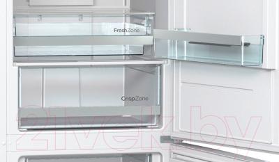 Холодильник с морозильником Gorenje NRK6191JW