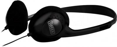 Наушники-гарнитура Sweex HM455 (Black) - общий вид