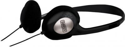 Наушники-гарнитура Sweex HM450 (Black-Silver) - общий вид