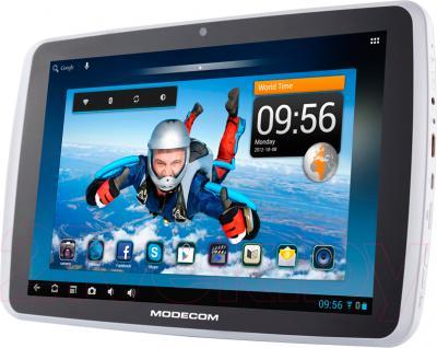 Планшет Modecom FreeTAB 1003 IPS X2 (16GB, Gray) - вполоборота