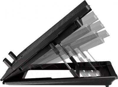 Подставка для ноутбука Cooler Master NOTEPAL ERGOSTAND LITE (R9-NBS-ESLK-GP) - вид сбоку
