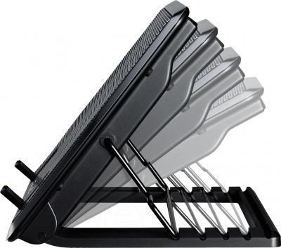 Подставка для ноутбука Cooler Master Notepal ERGOSTAND II Black (R9-NBS-E22K-GP) - вид сбоку