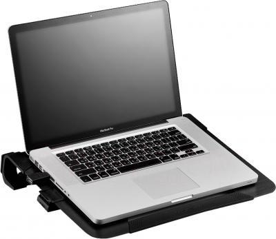 Подставка для ноутбука Cooler Master NotePal U2 Plus (R9-NBC-U2PK-GP) - с ноутбуком