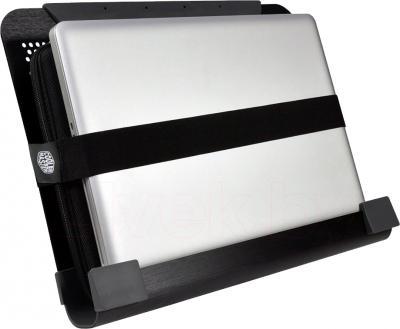 Подставка для ноутбука Cooler Master NotePal U2 Plus (R9-NBC-U2PK-GP) - вариант переноски ноутбука