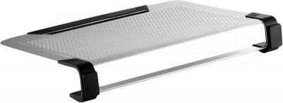 Подставка для ноутбука Cooler Master NotePal U3 Plus Silver (R9-NBC-U3PS-GP) - вид сбоку