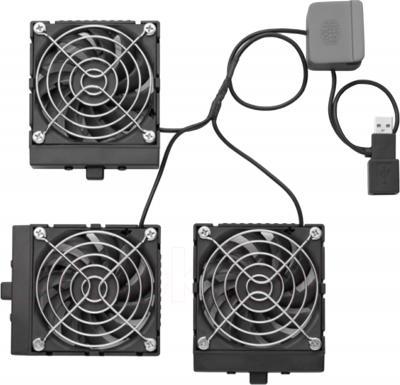 Подставка для ноутбука Cooler Master NotePal U3 (R9-NBC-8PCS-GP) - вентиляторы