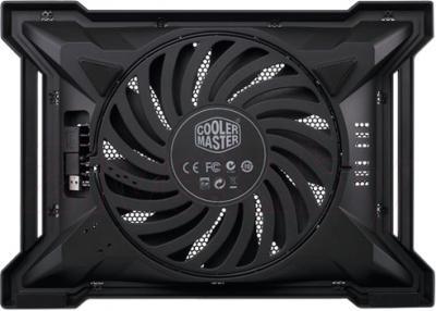 Подставка для ноутбука Cooler Master NotePal X-Slim II Black (R9-NBC-XS2K-GP) - вид сзади