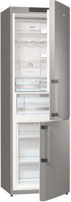 Холодильник с морозильником Gorenje NRK6191JX - общий вид