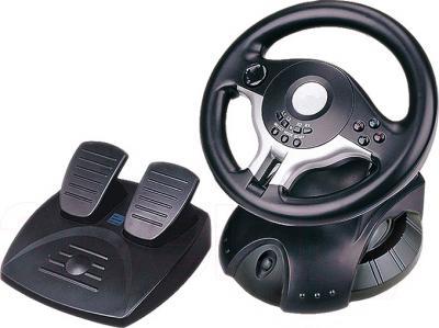 Игровой руль Gembird STR-RACEFORCE - общий вид