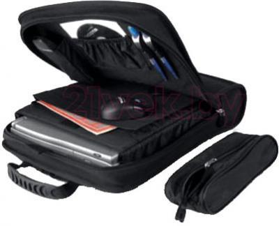 Рюкзак для ноутбука Dicota BacPac Run (N5998P) - в раскрытом виде