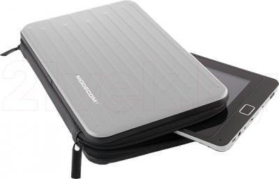 Чехол для планшета Modecom Aluminium FreeCase (Silver) - с планшетом