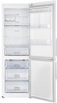Холодильник с морозильником Samsung RB30FEJNDWW/RS - в открытом виде