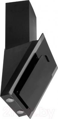 Вытяжка декоративная Germes Delta Decor (50, черный) - вид сбоку