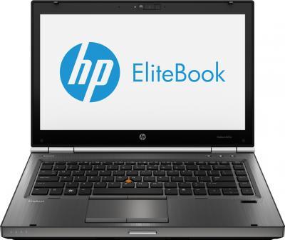 Ноутбук HP EliteBook 8470w (LY543EA) - фронтальный вид