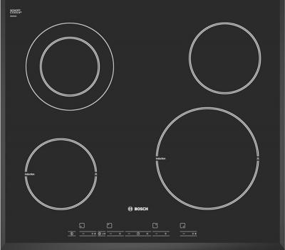 Индукционная варочная панель Bosch PIF 651T14E - вид сверху