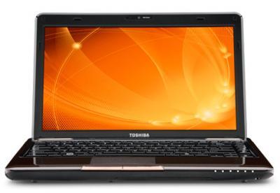 Ноутбук Toshiba L635-10L (PSK04E-02V017RU) - спереди