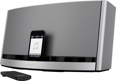 Мультимедийная док-станция Bose SoundDock 10 (Silver) - вид сбоку
