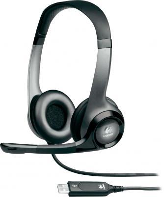 Наушники-гарнитура Logitech USB Headset H530 - общий вид