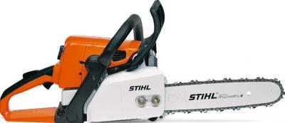 Бензопила/электропила Stihl MS 210 - спереди