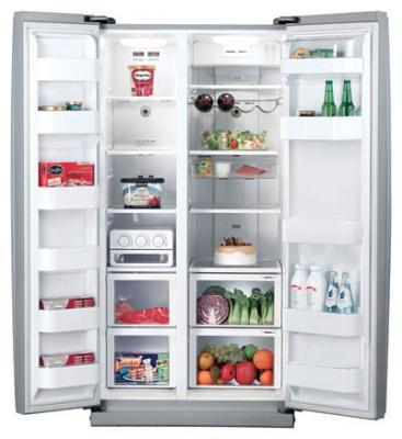 Холодильник с морозильником Samsung RS-20 NRPS - внутренний вид