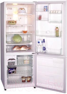 Холодильник с морозильником Panasonic NR-B591BR-C4 - общий вид