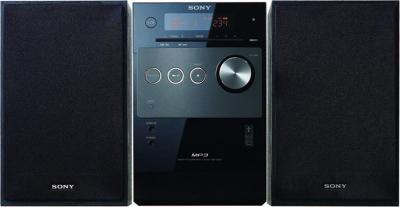 Микросистема Sony CMT-FX205 - Вид спереди