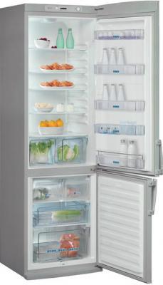 Холодильник с морозильником Whirlpool WBR 3712 S - с открытой дверью