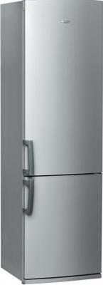 Холодильник с морозильником Whirlpool WBR 3712 S - общий вид
